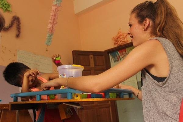 Ergotherapie vrijwilligerswerk in Cambodja