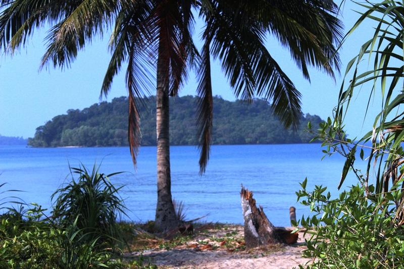 Strand in Cambodja