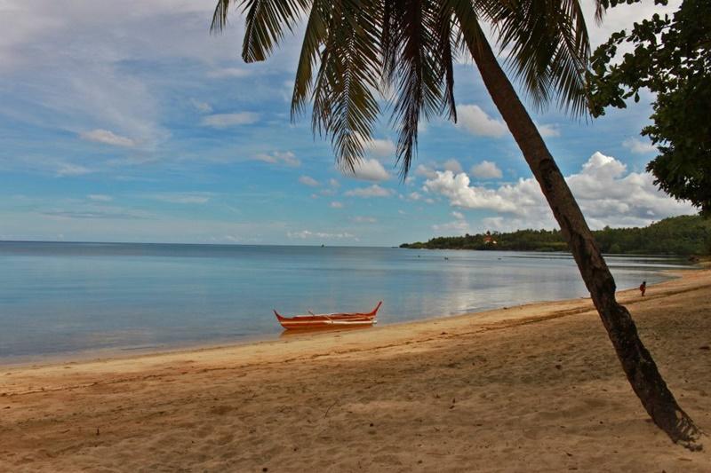 Prachtig strand in de Filippijnen