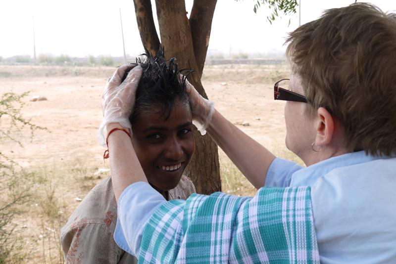 Medische outreach in India