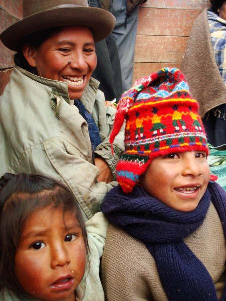 De inwoners van Peru