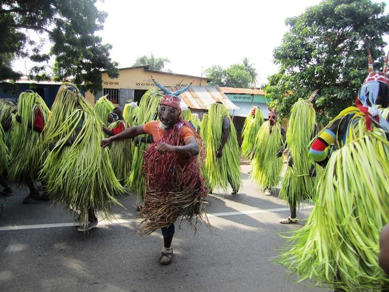 Lokaal festival in Togo