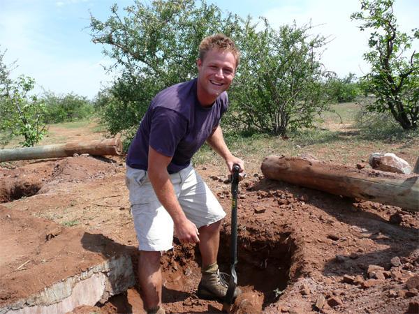 Projects Abroad vrijwilliger op het natuurbehoud project in Zuid-Afrika