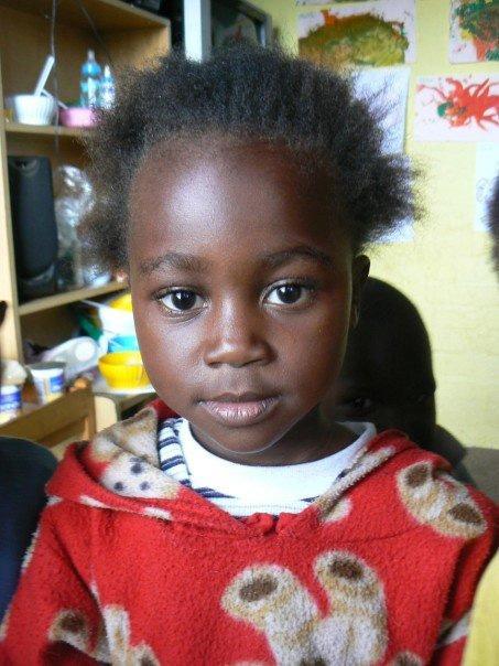 Zuid-Afrikaans meisje