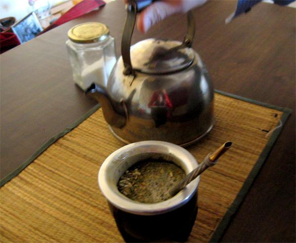 Traditional Drink: Mate