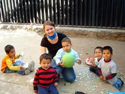 Frivillig arbeid med barn i Belize