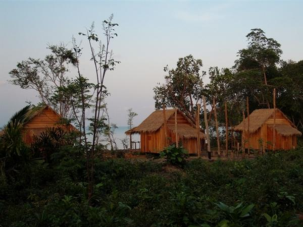Frivilliges bungalower på Natur og Miljøprosjektet