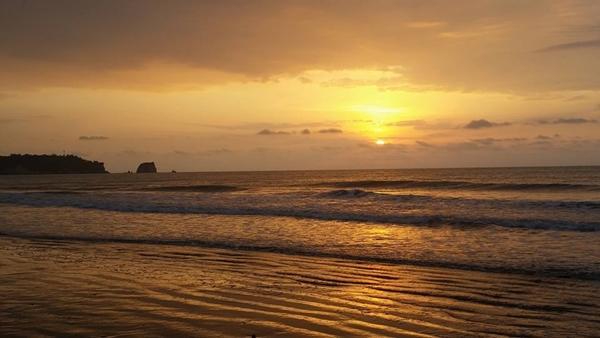Atacames-stranden i Esmeraldas-provinsen