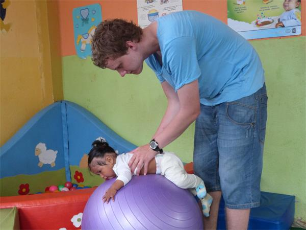 Frivillig på Barn og Ungdom-prosjekt