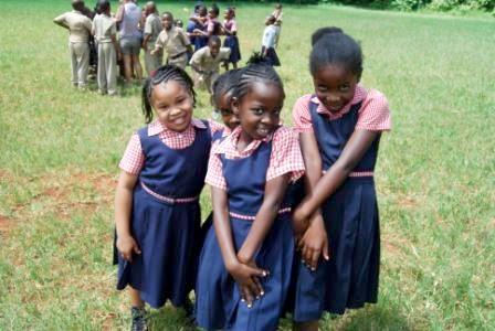 Students in Jamaica