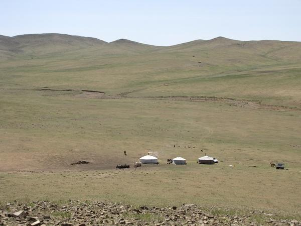Landscape in Mongolia