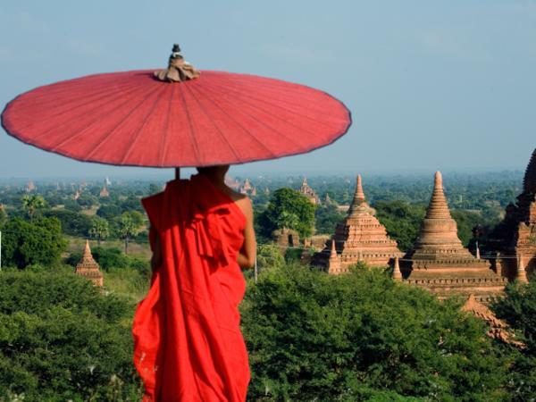 Myanmar har flott utsikt å by på for deg som frivillig