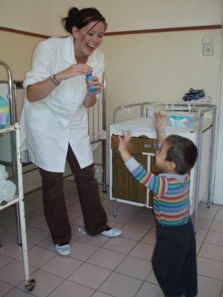 Volunteer at a Care placement