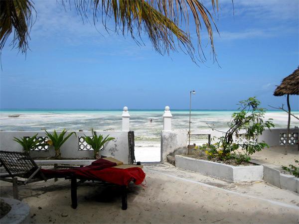 Tanzanian large beach