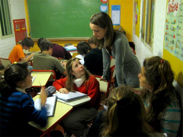 Teaching in Argentina
