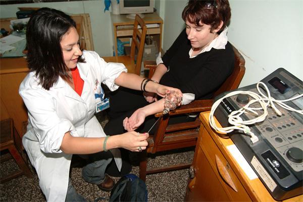 Medical intern in China