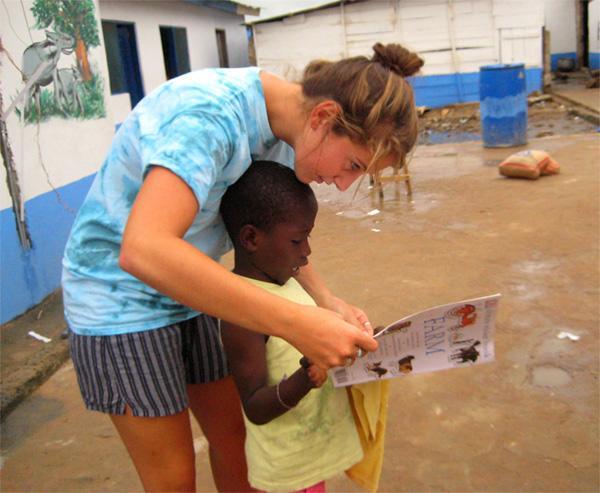 Care volunteer in Accra
