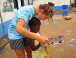 Care volunteer in Accra