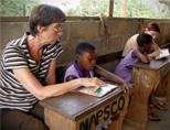 Teaching in a traditional classroom
