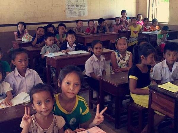 Schoolchildren at school