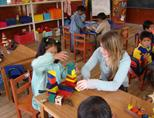 Care volunteer in Peru