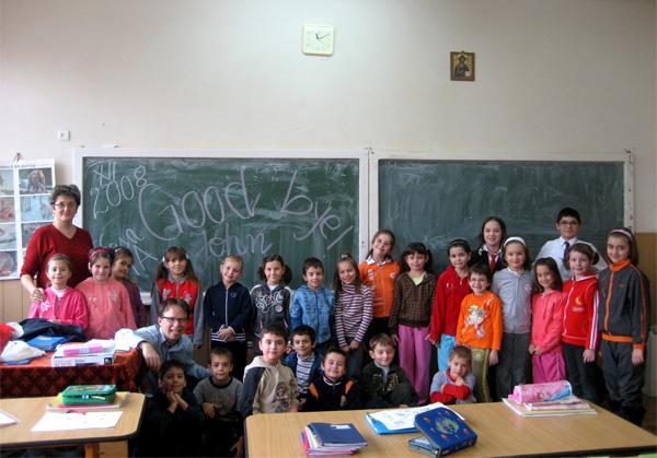 Volunteer in the classroom