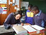 Volunteer teaching in Cape Town