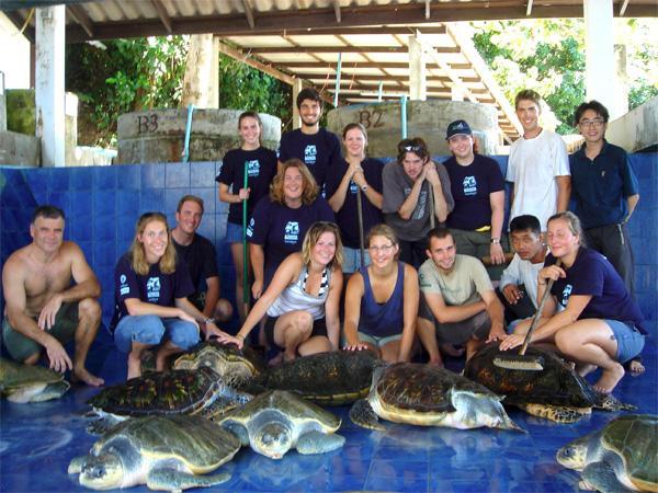 Conservation volunteers