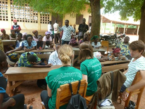 Human Rights outreach in Togo