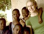 Care volunteer in Togo