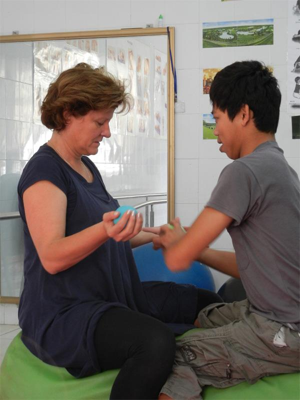 Physiotherapy volunteering