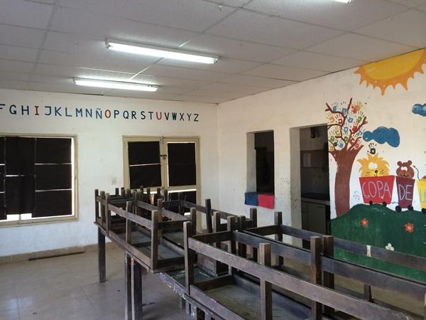 classroom for childcare in Argentina