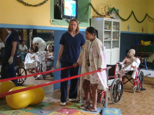 Physiotherapy volunteer in Bolivia