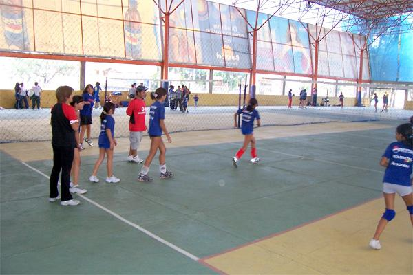 Volleyball placement