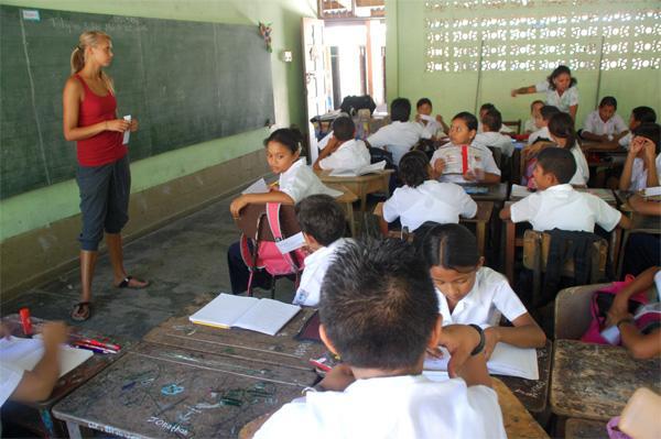 Teaching in primary school