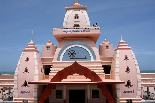 Gandhi memorial building