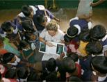 Teaching volunteer in India
