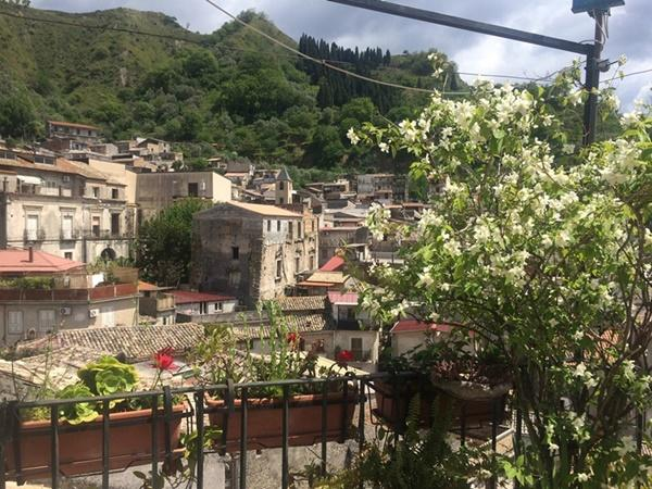 A scenic, mountainous view over Sajek Valley in Italy