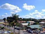 Photo overlooking Jamaican buildings in local neighbourhood