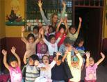 Volunteering at a Care Centre