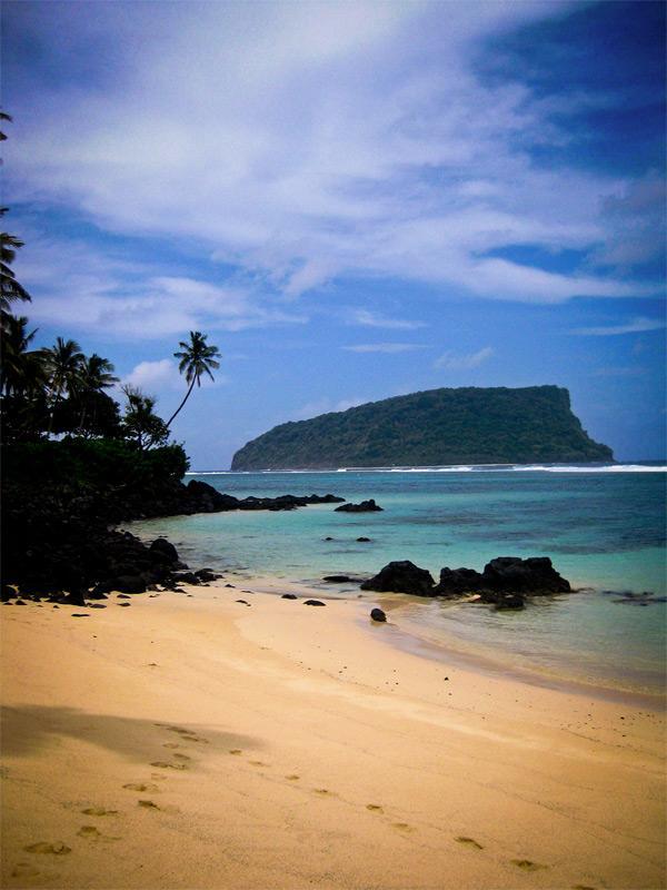 Scenery in Samoa