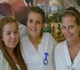 Andrea, Michaela und Ramona, Medizin in Jamaika