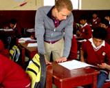 Arne, Unterrichten in Peru
