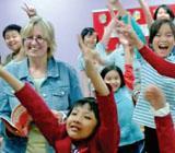 Astrid, Unterrichten in Vietnam