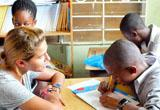 Melanie, Unterrichten in Jamaika