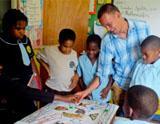 Patrick, Unterrichten in Jamaika