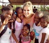 Pia, Unterrichten in Senegal