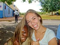Sara, Unterrichten in Jamaika
