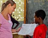 Swantje, Unterrichten in Jamaika