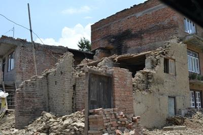 Projects Abroad sets up a Disaster Relief Project to help restore Nepal after the recent earthquake